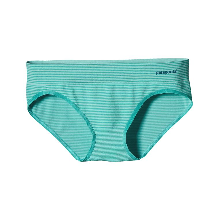 W'S ACTIVE HIPSTER, Teensy Stripe: Howling Turquoise (TEHQ)