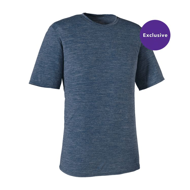 M'S MERINO DAILY T-SHIRT, Glass Blue (GLSB)