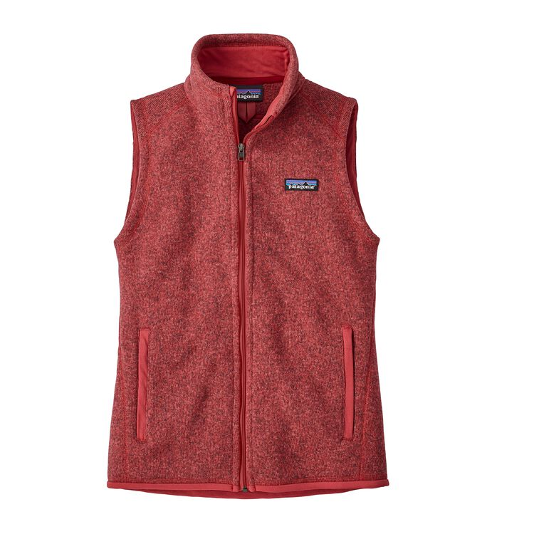 W'S BETTER SWEATER VEST, Static Red (STTR)