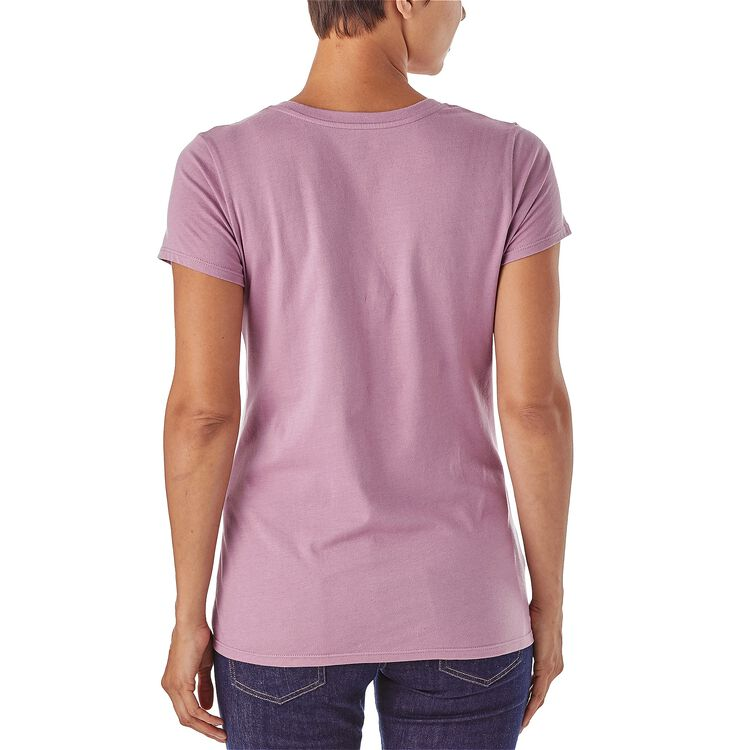 W's Live Simply® Summit Stones Cotton V-Neck T-Shirt,