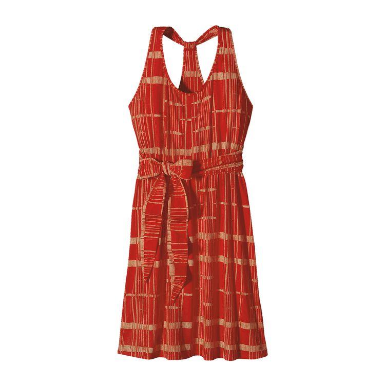 ウィメンズ・キアワ・アイランド・ドレス, Winding Road: Turkish Red (WDRT)