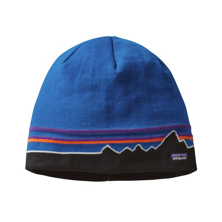 BEANIE HAT, Classic Fitz Roy: Andes Blue (CZAB)
