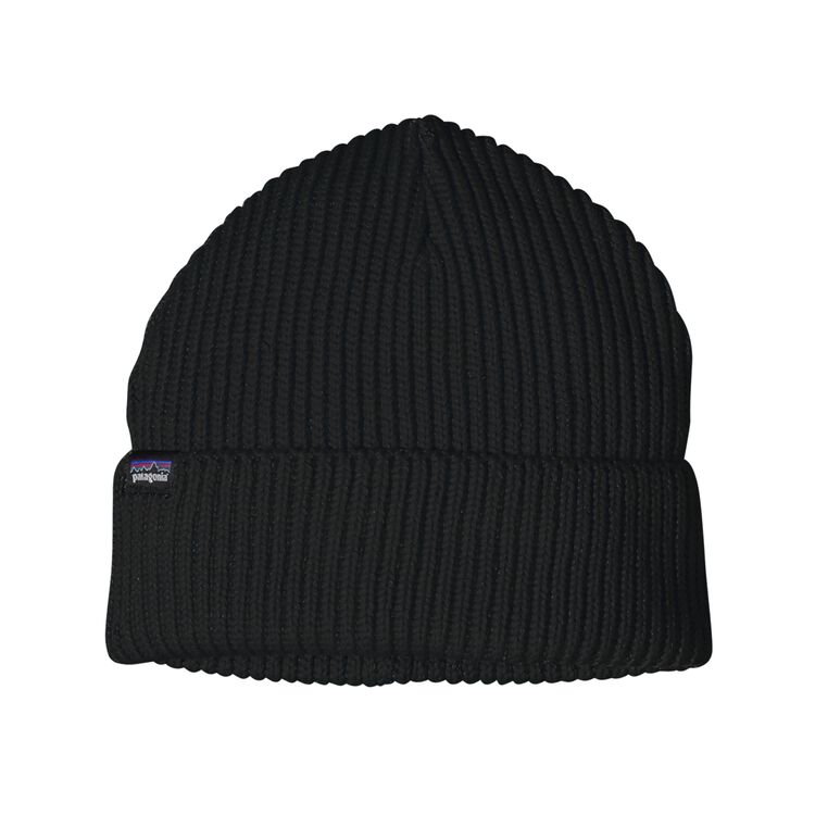 FISHERMANS ROLLED BEANIE, Black (BLK)