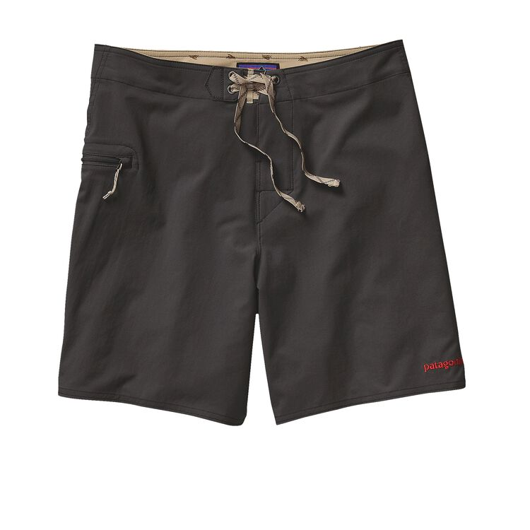 M'S SOLID STRETCH PLANING BOARD SHORTS -, Forge Grey (FGE)