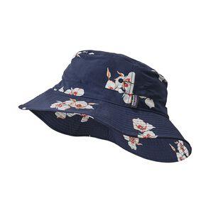 Wavefarer® Bucket Hat, Mariposa Lily: Classic Navy (MALC)