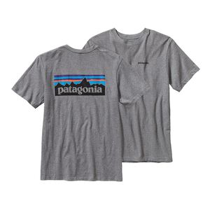 M's P-6 Logo Cotton T-Shirt, Gravel Heather (GLH)