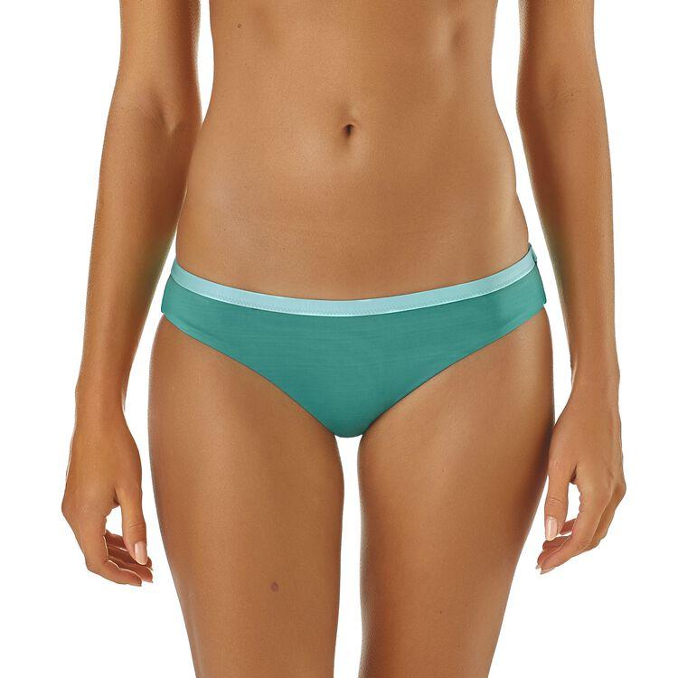 W's Solid Nanogrip Bikini Bottoms,