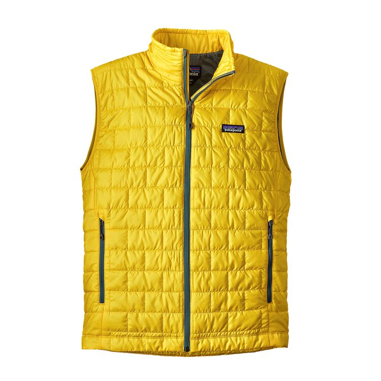 M'S NANO PUFF VEST, Chromatic Yellow (CYL)