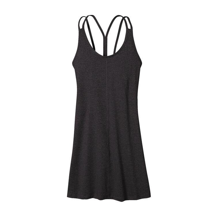 W'S LATTICEBACK DRESS, Forge Grey (FGE)