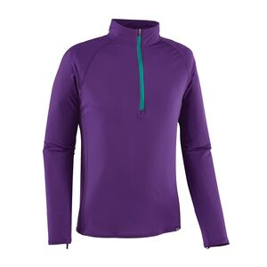 M's Capilene® Lightweight Zip-Neck, Purple (PUR)