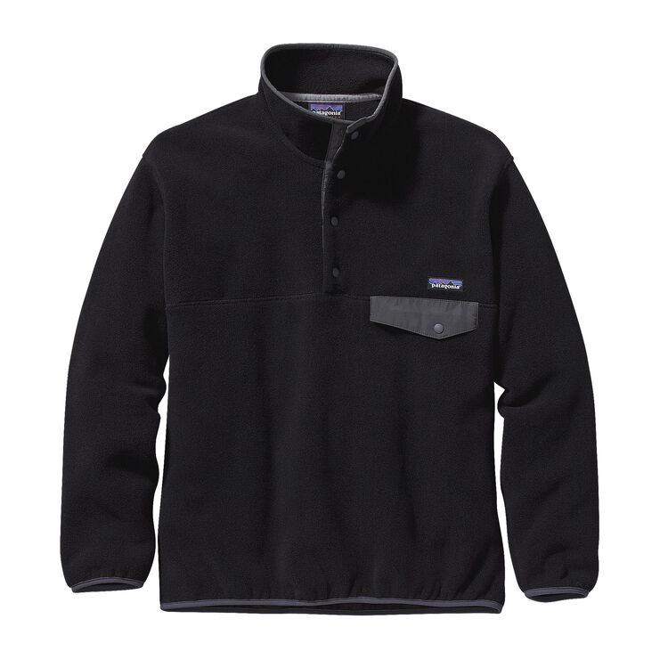M's Synchilla® Snap-T® Pullover, Black w/Forge Grey (BFO)