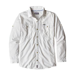 M's Long-Sleeved Sol Patrol™ II Shirt, White (WHI)