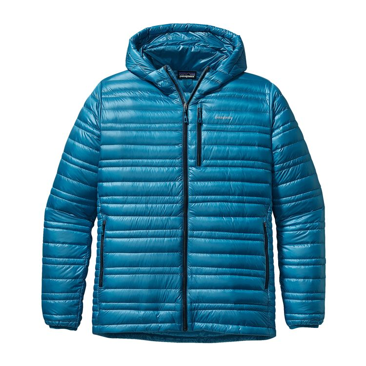 M'S ULTRALIGHT DOWN HOODY, Underwater Blue (UWTB)