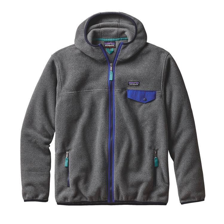 M'S LW SYNCH SNAP-T HOODY, Nickel (NKL)