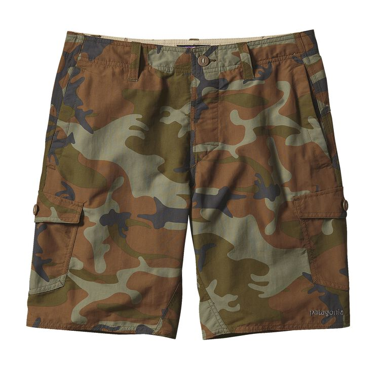 M'S WAVEFARER CARGO SHORTS - 20 IN., Forest Camo: Hickory (FCMH)