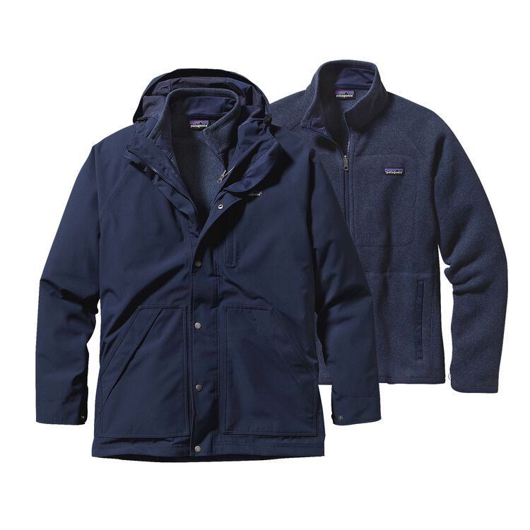 M'S BETTER SWEATER 3-IN-1 PARKA, Navy Blue (NVYB)