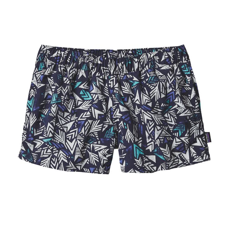 W'S BARELY BAGGIES SHORTS, Quiver & Quill: Navy Blue (QUNB)