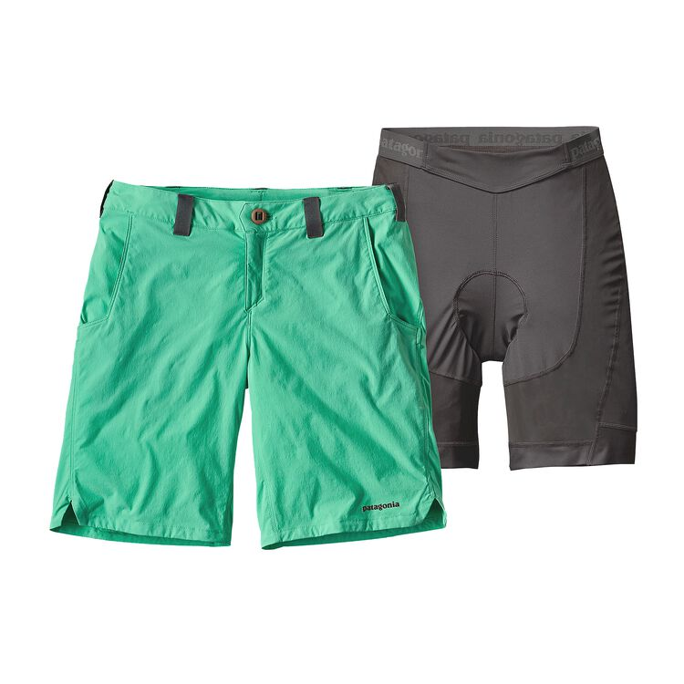 W'S DIRT CRAFT BIKE SHORTS, Galah Green (GLHG)