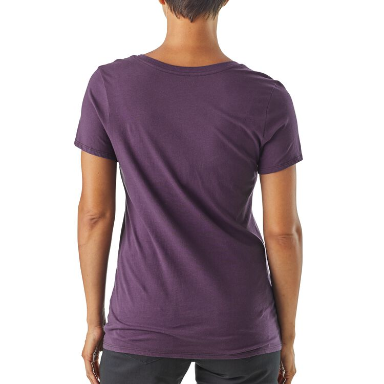 W's Live Simply® Sleeping Out Organic V-Neck T-Shirt,