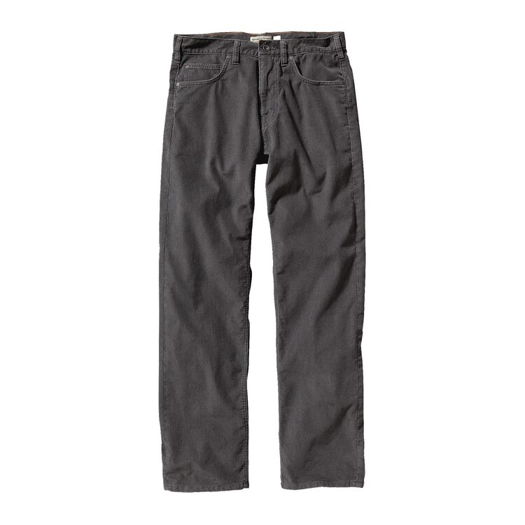 M'S REGULAR FIT CORDS - SHORT, Forge Grey (FGE)