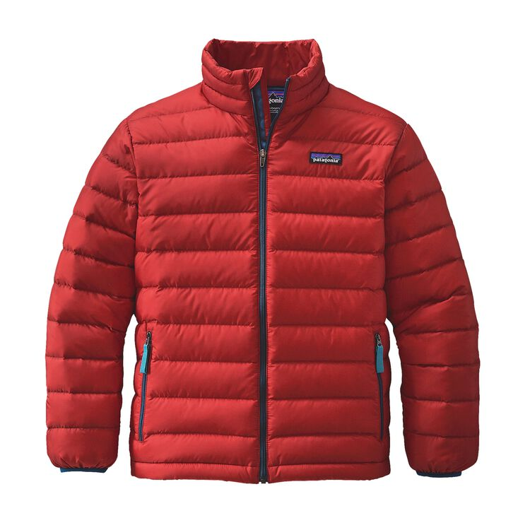 BOYS' DOWN SWEATER, Ramble Red (RMBR)