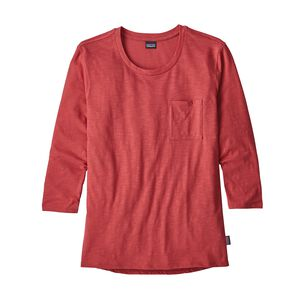 W's Mainstay 3/4-Sleeved Top, Static Red (STTR)