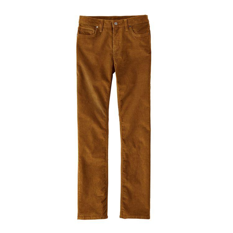 W'S CORDUROY PANTS - REG, Bear Brown (BRBN)