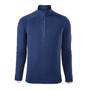 M's Capilene® Thermal Weight Zip-Neck, Viking Blue - Navy Blue X-Dye (VKNX)
