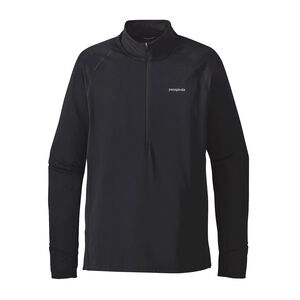 M's All Weather Zip-Neck, Black (BLK)