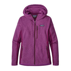 W's Performance Better Sweater™ Fleece Hoody, Ikat Purple (IKP)