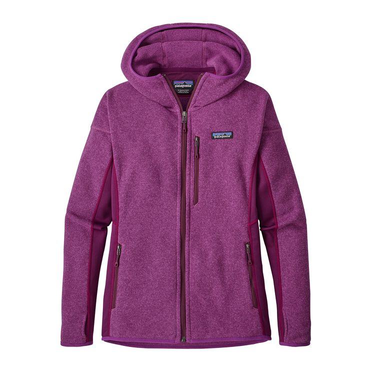 W'S PERFORMANCE BETTER SWEATER HOODY, Ikat Purple (IKP)