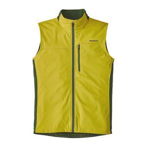 M's Wind Shield Vest, Fluid Green (FLGR)