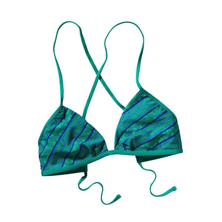 W'S KUPALA TOP, Tapa Stripe: Emerald (TEMD)