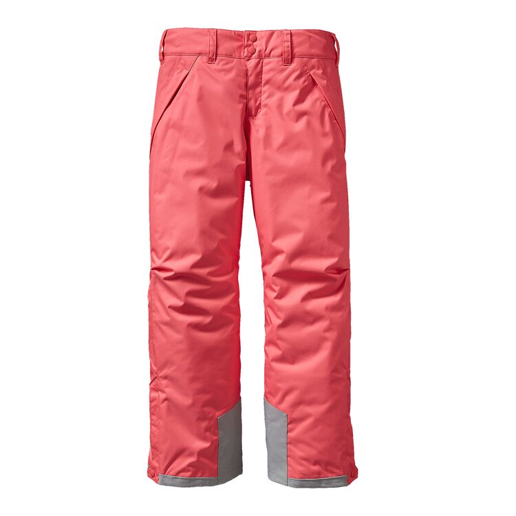 GIRLS' INSULATED SNOWBELLE PANTS, Indy Pink (IDYP)