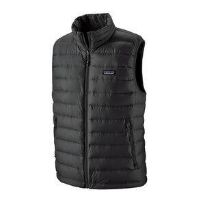 M's Down Sweater Vest, Black (BLK)