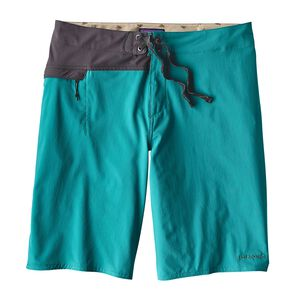 "M's Stretch Hydro Planing Board Shorts - 21"", True Teal (TRUT)"