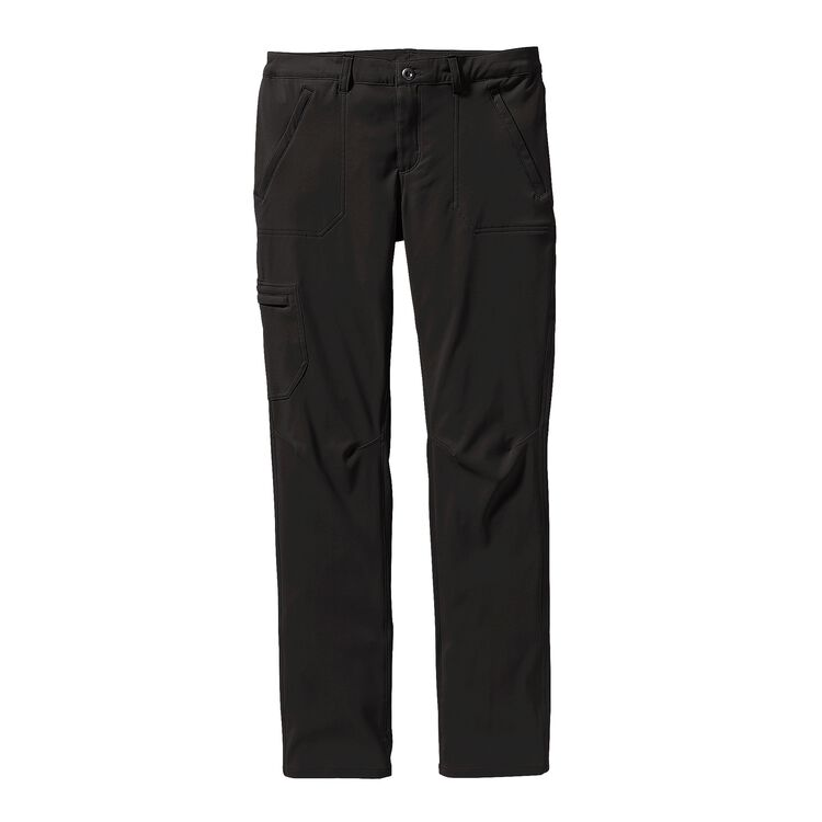 W'S SIDESEND PANTS - SHORT, Black (BLK)