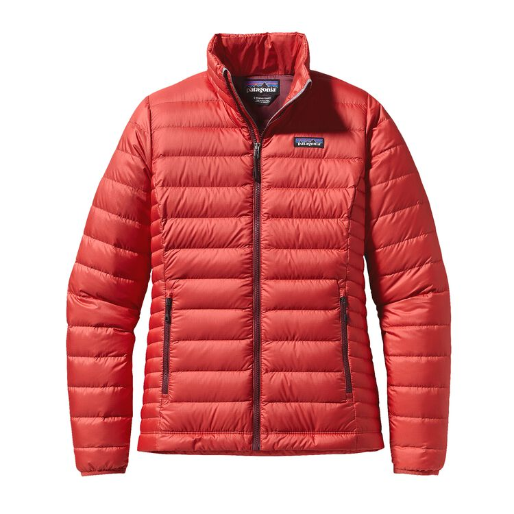 W'S DOWN SWEATER, Sumac Red (SUMR)
