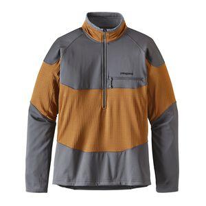 M's Long-Sleeved R1® Field 1/4-Zip, Bear Brown (BRBN)