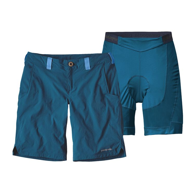 W'S DIRT CRAFT BIKE SHORTS, Big Sur Blue (BSRB)