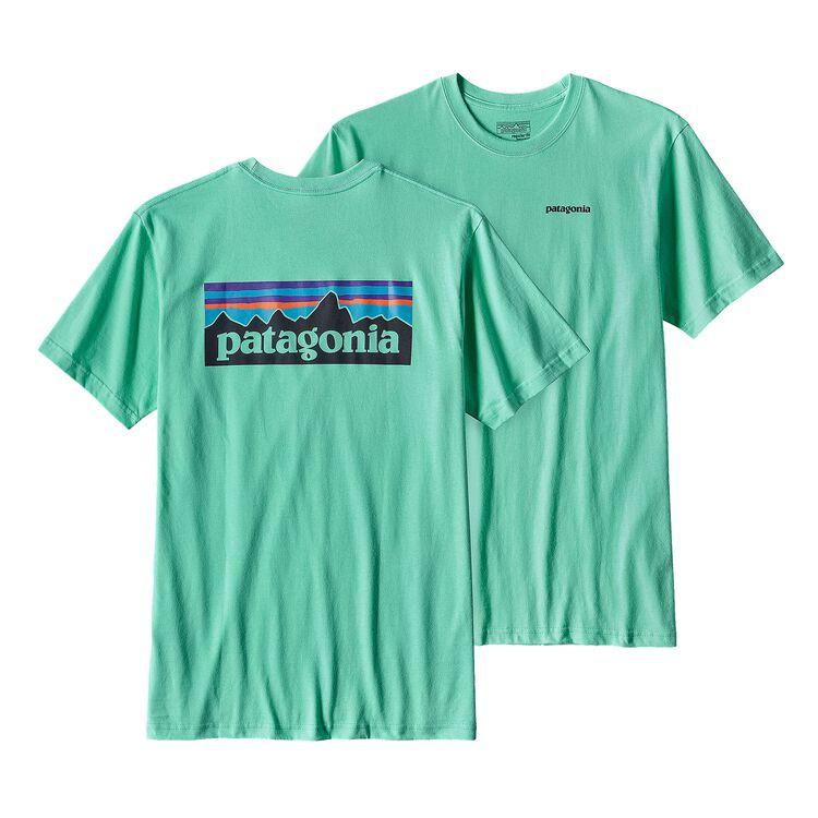 メンズ・P-6ロゴ・コットン・Tシャツ, Galah Green (GLHG)