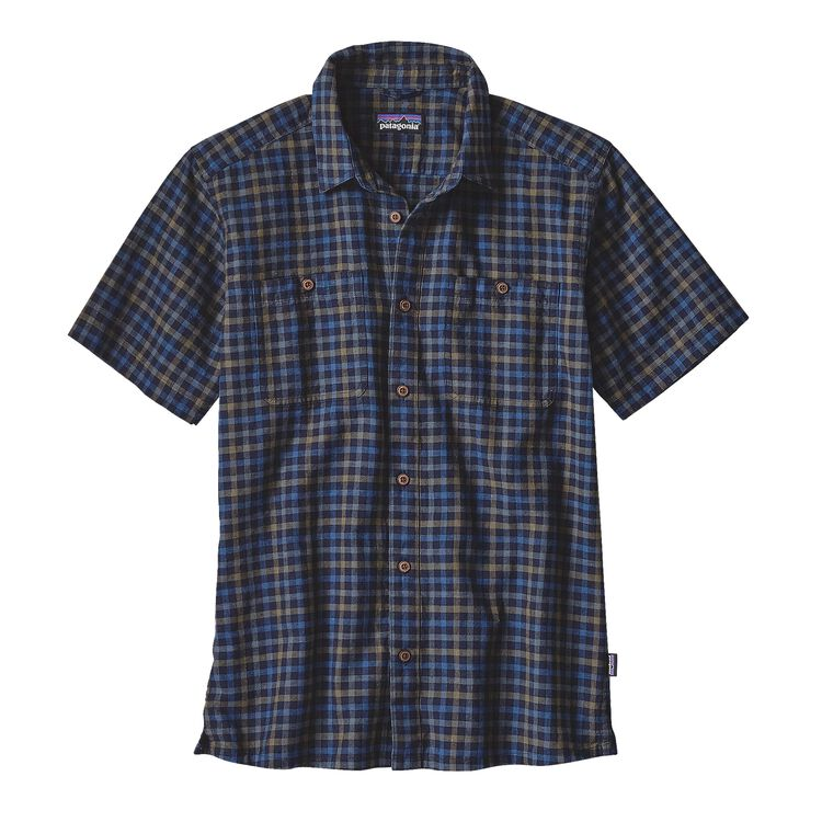 M'S BACK STEP SHIRT, Limber: Navy Blue (LBNB)
