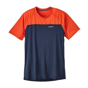 M's Short-Sleeved Windchaser Shirt, Navy Blue (NVYB)