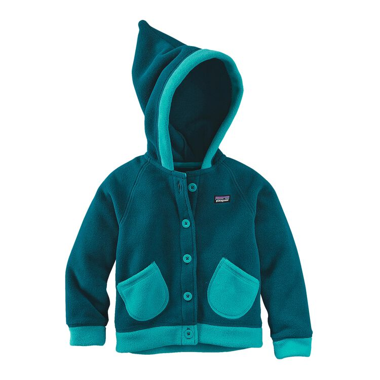 BABY SWIRLY TOP JKT, Deep Sea Blue (DSE)