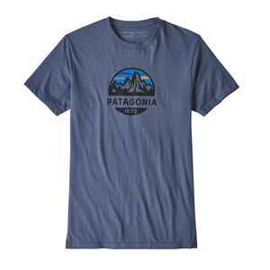 M'S FITZ ROY SCOPE ORGANIC T-SHIRT, Dolomite Blue (DLMB)