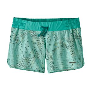 "W's Nine Trails Shorts - 4"", Tech Hex: Bend Blue (TEXB)"
