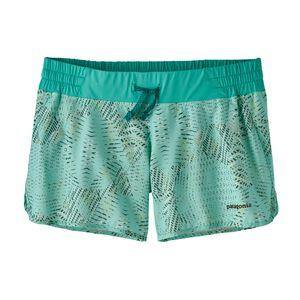 "W's Nine Trails Shorts - 4"", Tech Hex: Bend Blue (TEXB)"