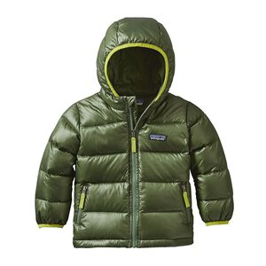 BABY HI-LOFT DOWN SWEATER HOODY, Buffalo Green (BUFG)