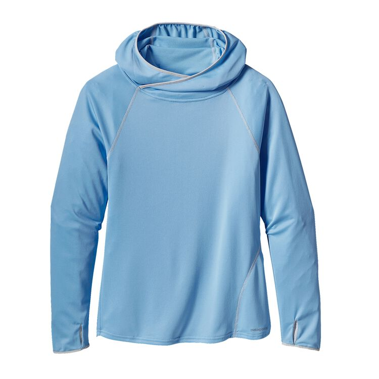 W'S SUNSHADE HOODY, Lite Electron Blue (LECB)