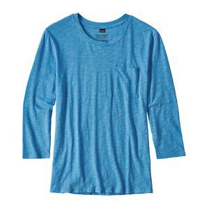 W's Mainstay 3/4-Sleeved Top, Radar Blue (RAD)